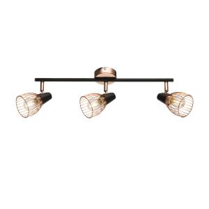 Светильник настенно-потолочный спот Rivoli Insolito 7010-703 3 x E14 40 Вт поворотный