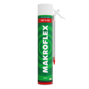 2598465 MAKROFLEX Пена монтажная МЕГА 65 СТД, 800мл (16/384)