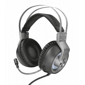 Стерео наушники с микрофоном Trust  23211 проводные игровые черные GXT 435 Ironn