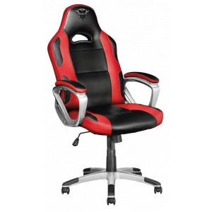 Игровое кресло компьютерное Trust  22256 красное кожзам