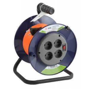 ЭРА Удлинитель силовой RPx-4s-2x1.0-20m на п. катушке б/з 4 гн 20м ПВС 2х1 (2/36)