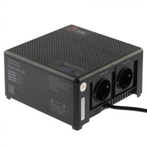 Стабилизатор напряжения ЭРА  CНК-500-УЦ компактный универсальный, 140-260В/220В, 500ВА