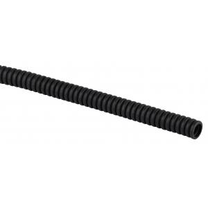 ЭРА Труба гофрированная ПНД (черный) d 20мм с зонд. легкая 25м (60)