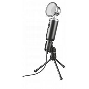21672 Trust Стрим микрофон Madell Desk Винтаж ПопФильтр (20/480)