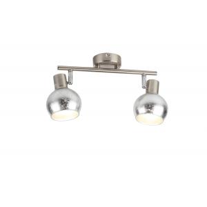 Светильник настенно-потолочный спот Rivoli Craquelure 7008-702 2 x E14 40 Вт поворотный