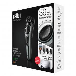 Braun Электрический триммер BT7240 + Бритва Gillette + 2 кас + футляр (3/300)