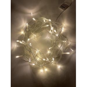ENON-5B ЭРА Гирлянда LED Нить 5 м теплый свет, 24V, IP44 (80/1920)