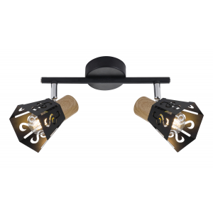 Светильник настенно-потолочный спот Rivoli Notabile 7005-702 2 x E14 40 Вт поворотный