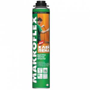 2598443 MAKROFLEX Строительная клей-пена профессиональная (850мл) (16/384) (16/384)