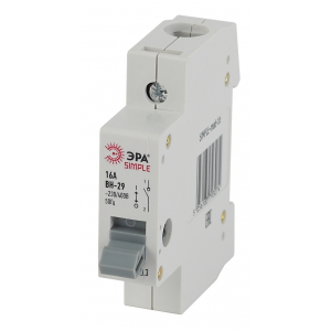 SIMPLE-mod-57 ЭРА SIMPLE Выключатель нагрузки 1P 40А ВН-29 (12/180/5040)