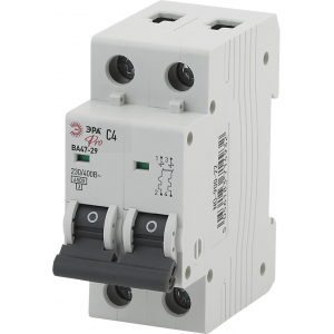 ЭРА Pro Автоматический выключатель NO-900-23 ВА47-29 2P 5А кривая C (6/90/1620)