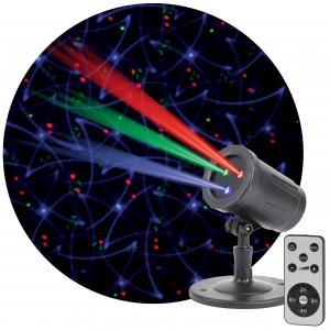 ENIOP-05 ЭРА Проектор Laser Калейдоскоп, IP44, 220В (12/252)