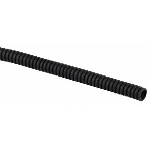 ЭРА Труба гофрированная ПНД (черный) d 25мм с зонд. легкая 25м (40)