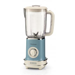 568/15 Ariete Vintage Блендер стационарный. Мощность-500 Вт, объем-1,5 л. Цвет голубой (6/72)