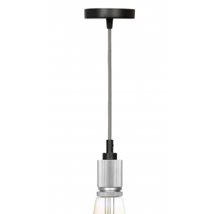 PL13 E27 - 8 CH Подсветка ЭРА Накладной, цоколь Е27, провод 1 м, цвет хром (60/360)