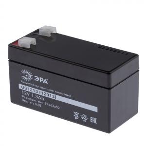ЭРА АккумуляторGS1213 (Cвинцово-кислотный 12V 1,3) (20/900)