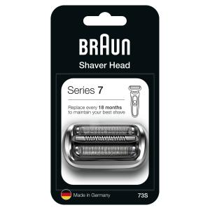 Braun Сетка + режущий блок 73S Silver (10/320/3840)