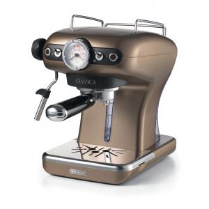 1389/16 Ariete Classic Кофеварка эспрессо. Цвет бронзовый. Мощность 900 Вт., 15 бар, ретро дизайн (4