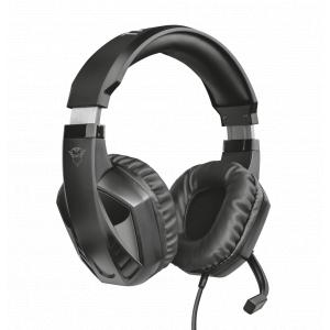 Стерео наушники с микрофоном Trust  23373 проводные игровые черные GXT412 CELAZ