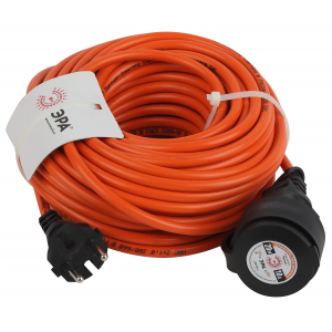 ЭРА Удлинитель силовой UPx-1-2x1-20m-IP44 в бухте б/з 20м 1 гн ПВС 2х1 (10/240)