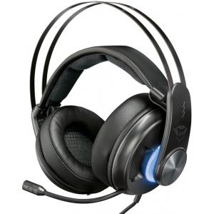 Стерео наушники с микрофоном Trust  22055 проводные игровые черные GXT 383 Dion 7.1
