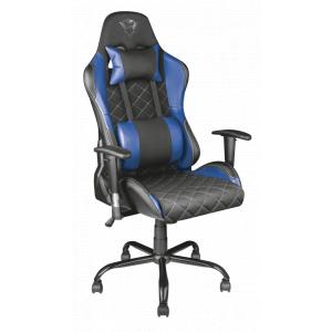 Игровое кресло компьютерное Trust  22526 тканевое синиее GXT 707B RESTO