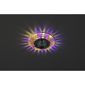DK LD4 TEA/WH+PU Светильник ЭРА декор cо светодиодной подсветкой( белый+фиолетовый), чай (50/1400)