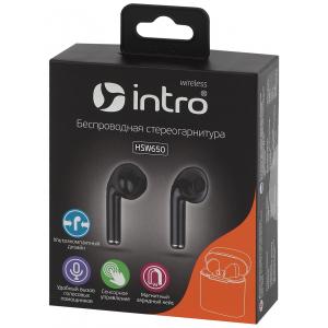 Intro HSW650 Bluetooth-гарнитура черные (100/2400)