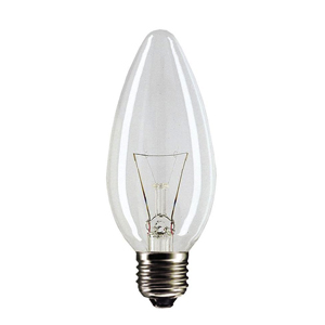 74396 General Electric Брест B35 свеча 40W 230V E27 CL, 40C1/CL/E27 230V (100/7200)