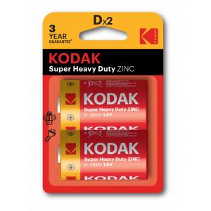 Kodak R20-2BL EXTRA HEAVY DUTY [KDHZ-2] (24/120/5040)