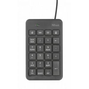 22221 Клав Trust цифровая  XALAS USB (60/720)