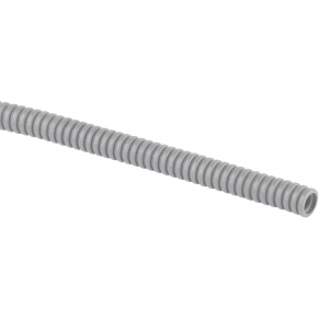 ЭРА Труба гофрированная ПВХ (серый) d 25мм с зонд. легкая 50м (12)