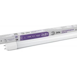 LED T8-24W-865-G13-1500mm ЭРА (диод,трубка стекл,24Вт,хол,пов. G13) (25/875)