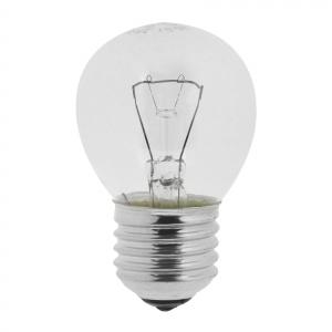 КАЛАШНИКОВО ДШ (P45) 40Вт 230-240V E27 шарик, прозр. в цветной гофре (100/4200)
