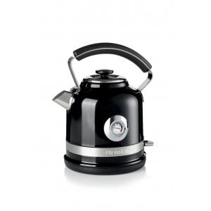 2854/02 Ariete Moderna Чайник электрический. Мощность 2000 Вт, объем 1.7 л, цвет: черный (4/64)