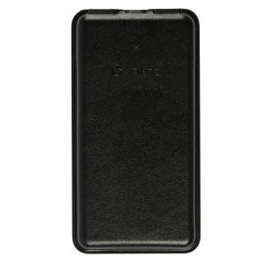 PB1001 USB зарядки_25 Intro Power Bank 10 000 mAh, black leather (19/1710)