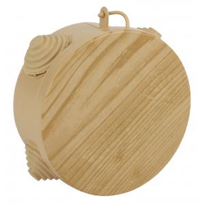ЭРА Коробка распаячн. открытой установки КОР (сосна)  85х40мм с гермовводами 4 вх. IP54 (32/1152)