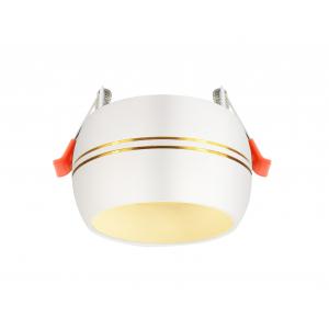 KL81 WH/GD Светильник ЭРА алюминиевый GX53, белый/хром (40/960)