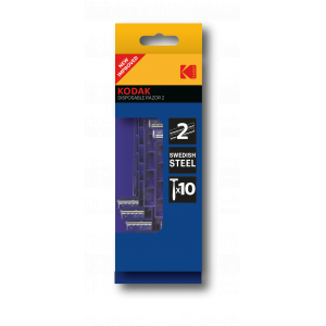 Одноразовые станки для бритья Kodak  30419926/N мужские 2 лезвия 10 станков