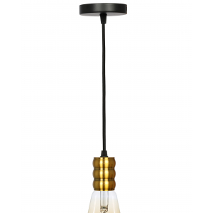 PL13 E27 - 3 GB Подсветка ЭРА Накладной, цоколь Е27, провод 1 м, цвет медь (60/360)