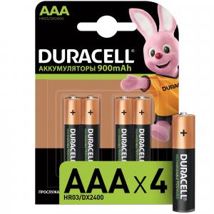 Duracell HR03-4BL 850mAh/900mAh предзаряженные (4/40/15000)