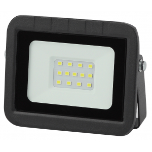 LPR-061-0-65K-010 ЭРА Прожектор светодиодный уличный 10Вт 950Лм 6500К 100x80x26 (80/2000)