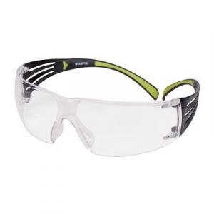 3М SecureFit Очки Открытые защитные, цвет линз прозрачный, с покрытием против царапин и запотевания,
