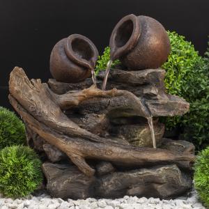 GWXF02761 GREEN APPLE Фонтан садовый Кувшин 51см (4)
