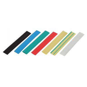 ЭРА Термоусаживаемая трубка ТУТнг 12/6 набор (7 цветов по 3 шт. 100мм) (340/6800)