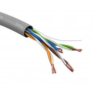 ЭРА Кабель витая пара U/UTP 4x2x24AWG Cat5e CU PVC 305м SIMPLE (2/24) (2/30)