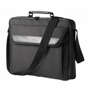 Сумка для ноутбука Trust  21081 тканевая 17 дюймов черная Atlanta