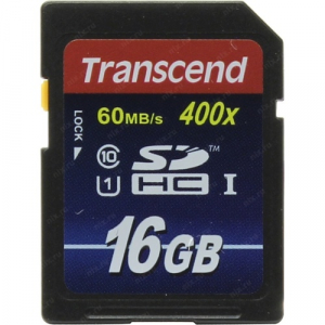 Transcend SDHC 16 Gb Class 10 Premium UHS-I (25/7500)