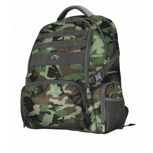 Рюкзак для ноутбука Trust  23868 тканевый 17 дюймов камуфляж GXT 1250G