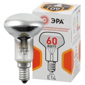 ЭРА R50 рефлектор 60Вт 230В E14 цв. упаковка (100/3600)